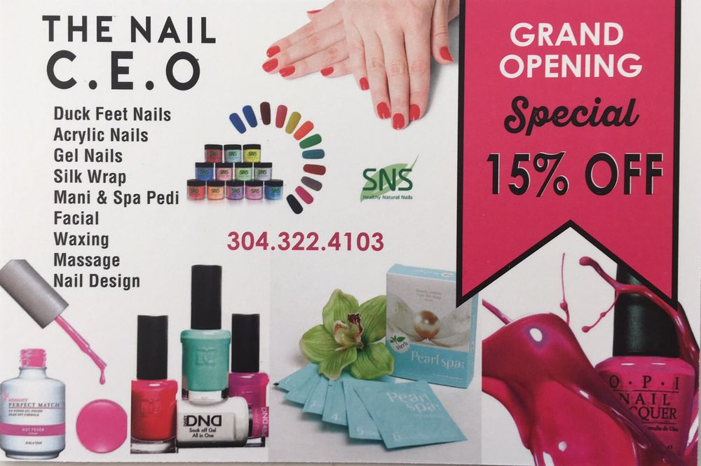 The Nail CEO: 200 Fort Pierpont Dr, Morgantown, WV