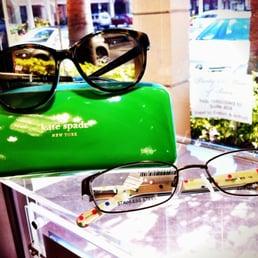 Photo of Florida Eye Care & Contact Lens Center - Boca Raton, FL, United States. Kate Spade glasses & sunglasses.