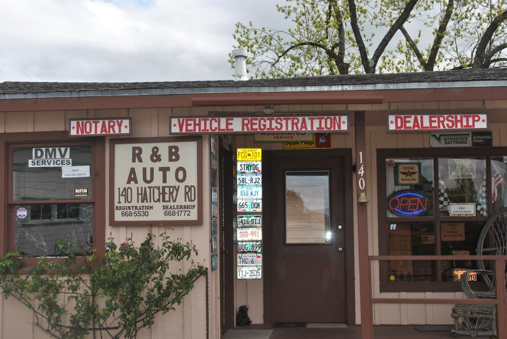 R & B Auto: 140 Hatchery Rd, Blue Lake, CA