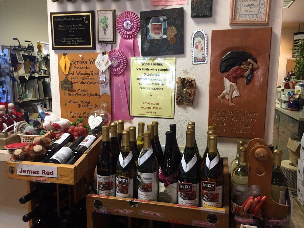 Ponderosa Valley Winery: 3171 Hwy 290, Ponderosa, NM