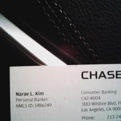 Photo Of Chase Bank   Los Angeles, CA, United States. Narae L Kim