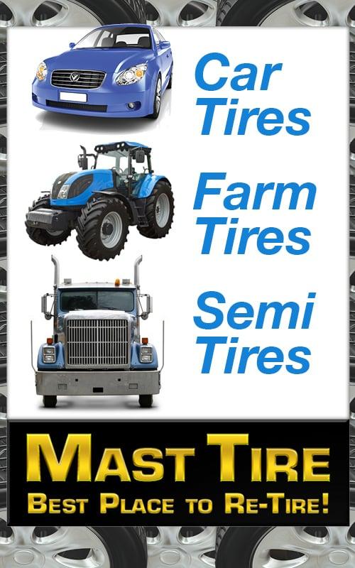 Mast Tire: 519 Main St, Pleasant City, OH