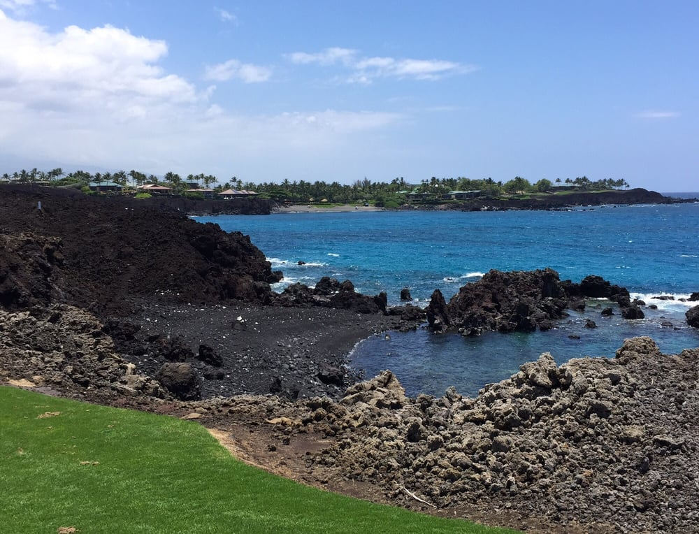 Photo Of 49 Black Sand Beach Kamuela Hi United States