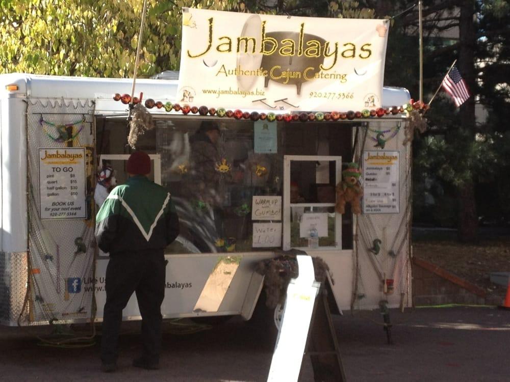 Jambalayas Food Truck Catering: Appleton, WI