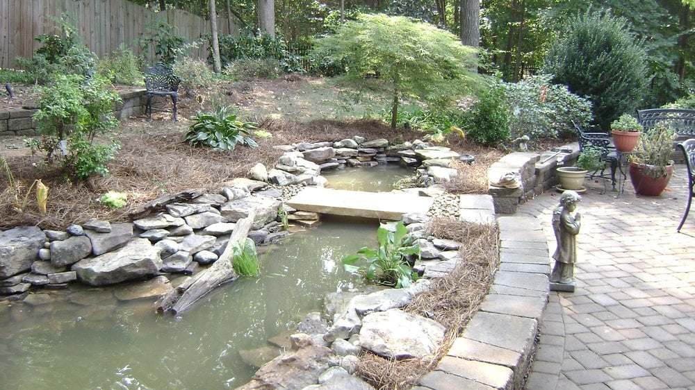 Koi Pond Revision And Enlargement We Added The Natural