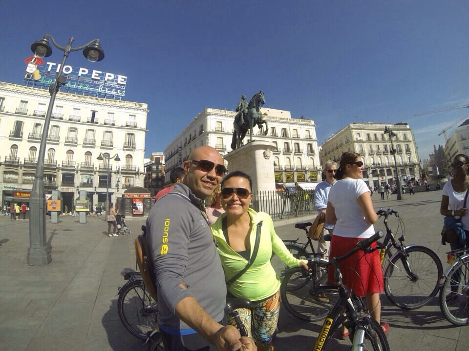 Trixi madrid fietsverhuur calle de los jardines 12 for Calle jardines madrid