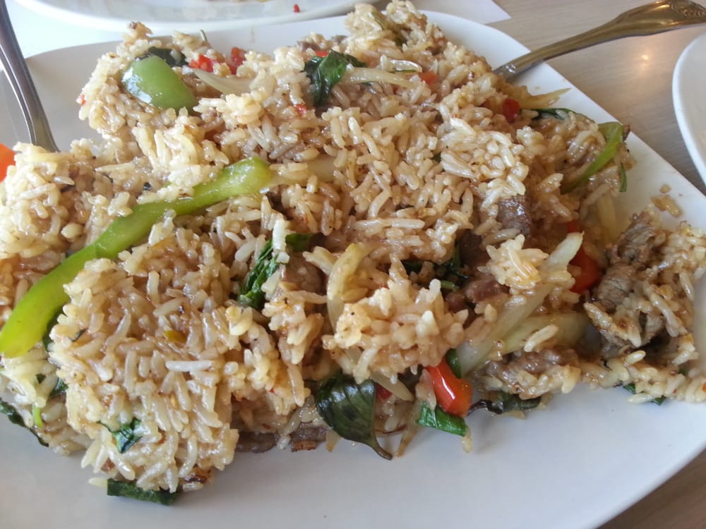 Spicy thai beef fried rice - Yelp