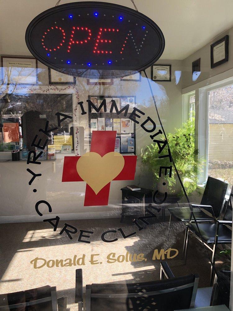 Yreka Immediate Care Clinic: 534 N Main St, Yreka, CA