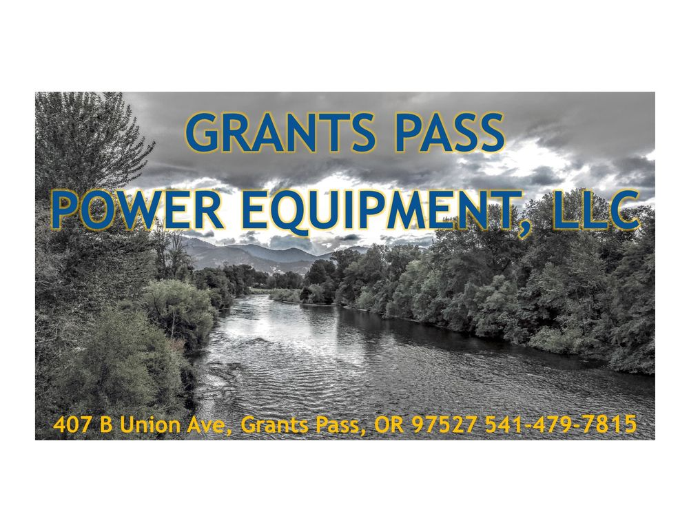 Grants Pass Power Equipment: 407 Union Ave, Grants Pass, OR
