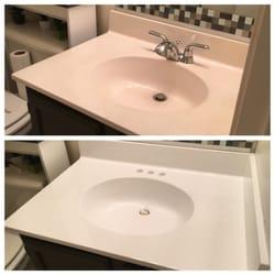 Beau Photo Of Top Reglazing   Manassas, VA, United States. Sink Reglazed