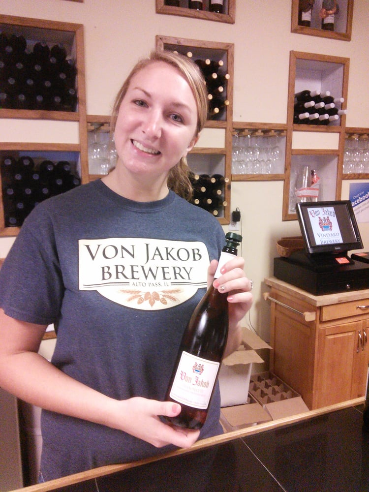 Von Jakob Winery & Brewery: 230 IL-127, Alto Pass, IL