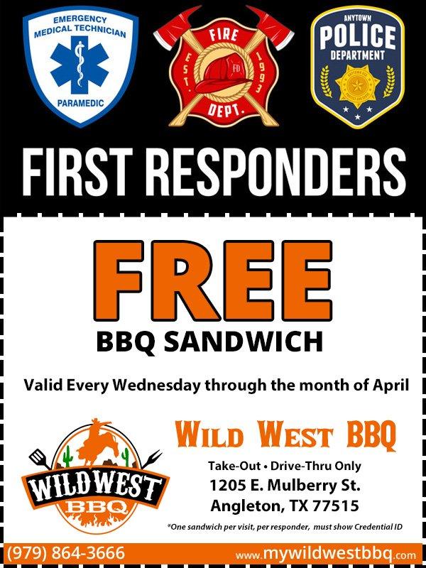 Wild West BBQ: 1205 E Mulberry St, Angleton, TX