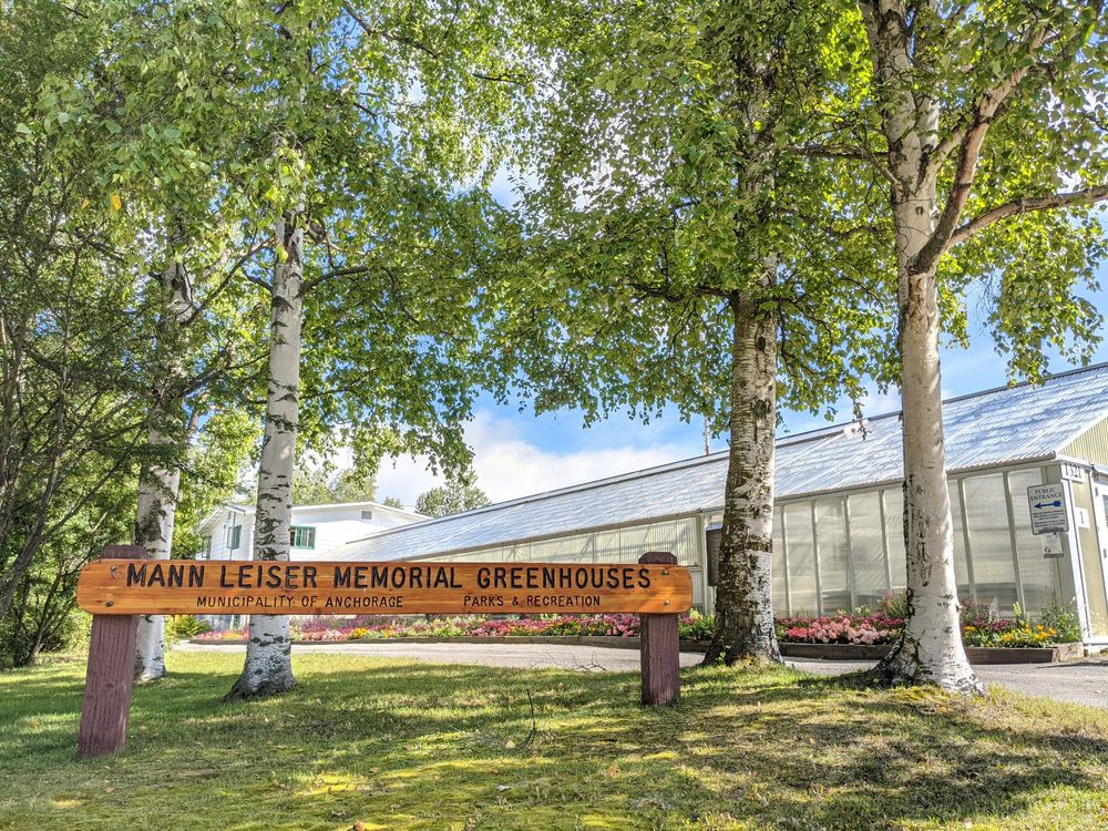 Horticulture Complex & the Mann Leiser Memorial Greenhouses: 1321 Lidia Selkregg Ln, Anchorage, AK
