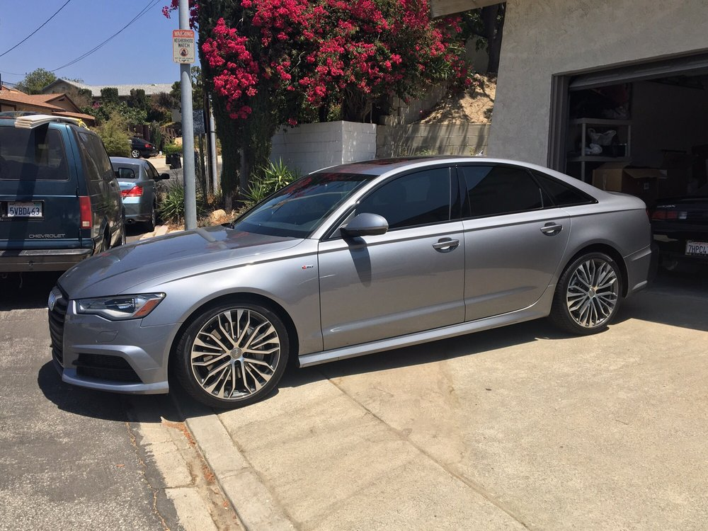 My Audi A6, summer of audi edition, with black optic package