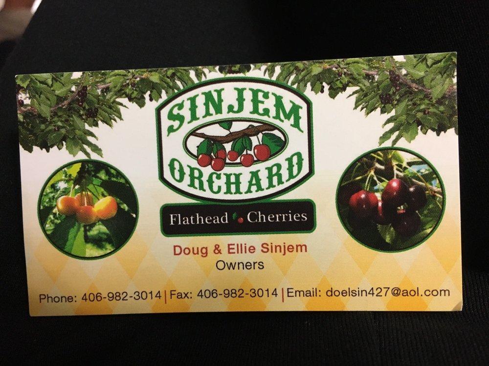 Sinjem Orchard: 21981 MT-35, Bigfork, MT