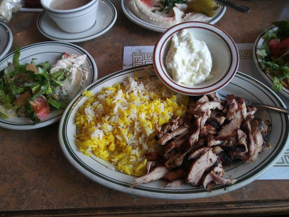 Food from Badawest Restaurant