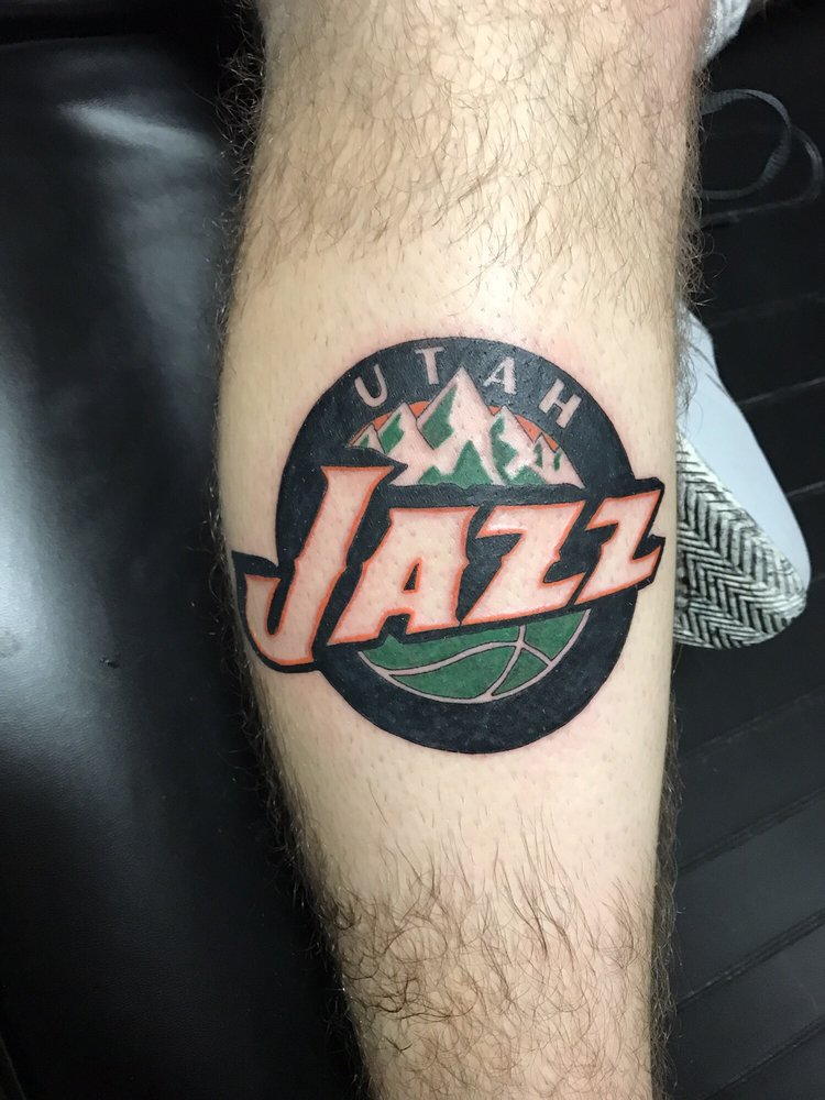 Utah Jazz Logo Out Of The Norm For Crash But He Did An