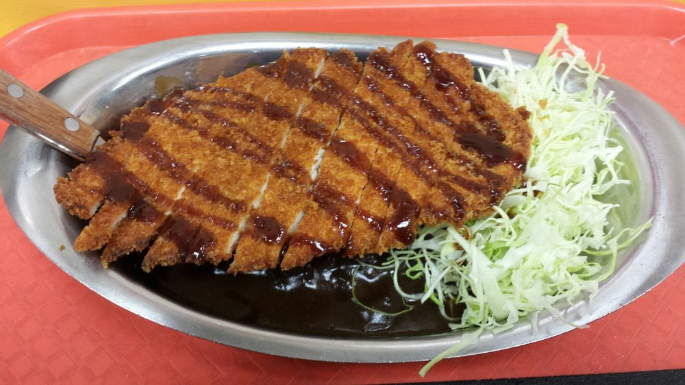 Chicken tonkatsu curry, walk size $7.00 - Yelp