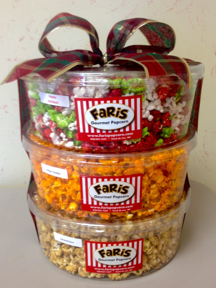 Popcorn Holiday Tower -- Great for gift ideas! - Yelp