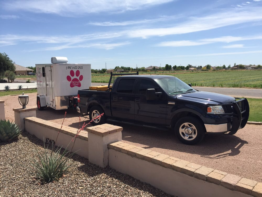 Fully Contained Trailer With Ac I Bring My Own Water And