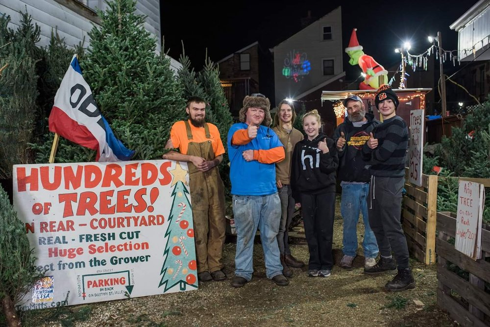 Tom Mitts Christmas Trees: 625 Monmouth St, Newport, KY