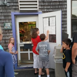 Photo of Back Door Donuts - Oak Bluffs MA United States. Donut management & Back Door Donuts - 202 Photos u0026 254 Reviews - Donuts - 5 Post Office ...