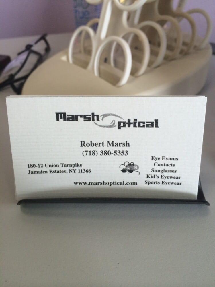 Marsh Optical Boutique - Eyewear & Opticians - 18012 Union Tpke ...