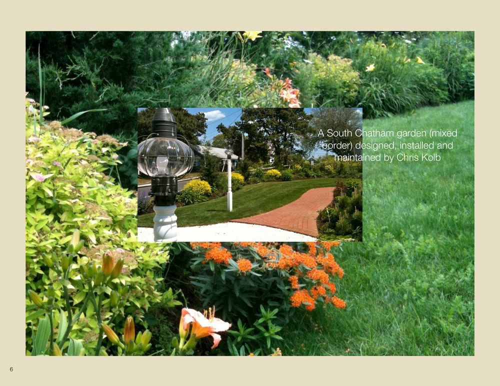 Seaside flower garden in Chatham, MA designed and maintained by Ark ...