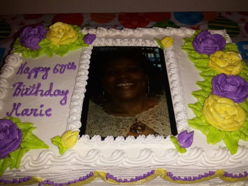 Maries 60th Birthday Cake Yelp
