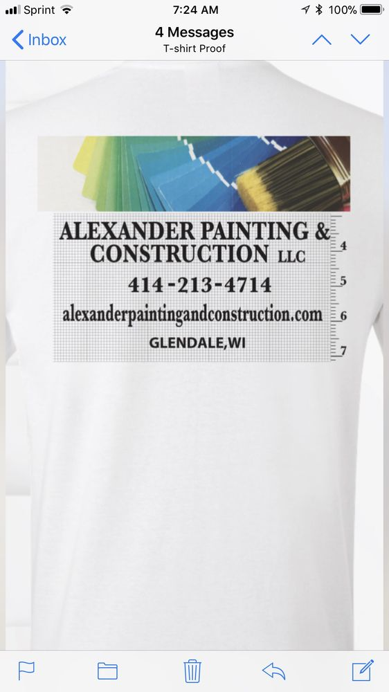 Alexander Painting and Construction: 7443 N Chadwick Rd, Glendale, WI