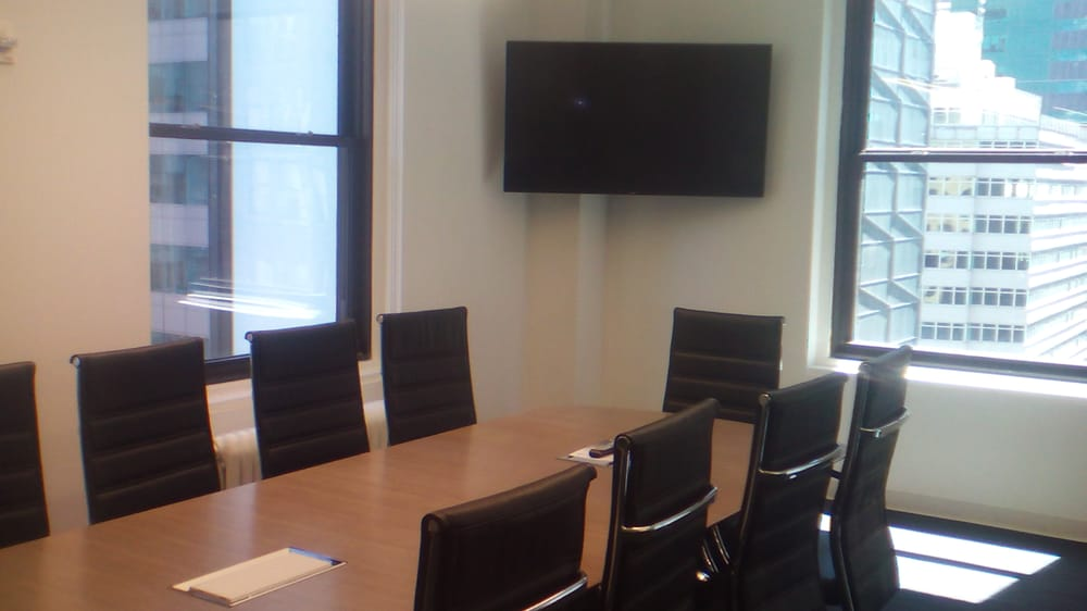 Large Conference Room HDTV Mounting DATA Voice Ports In Table - Conference table data ports hdmi