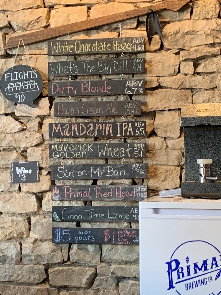 Primal Brewing: 140 Market St, Baird, TX