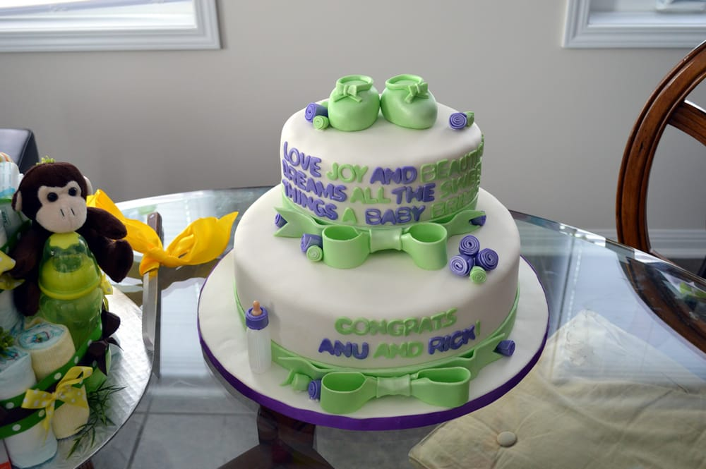 Baby Shower Cake Brampton