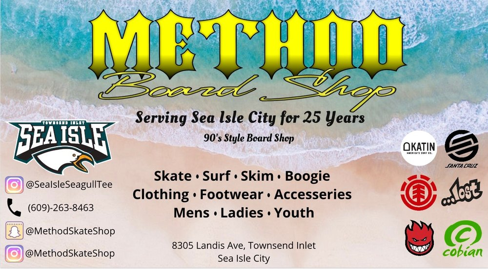Method Board Shop: 8305 Landis Ave, Sea Isle City, NJ