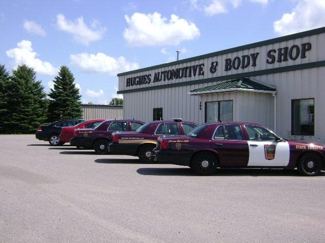 Hughes Auto & Body: 109 LeRay Ave, Eagle Lake, MN