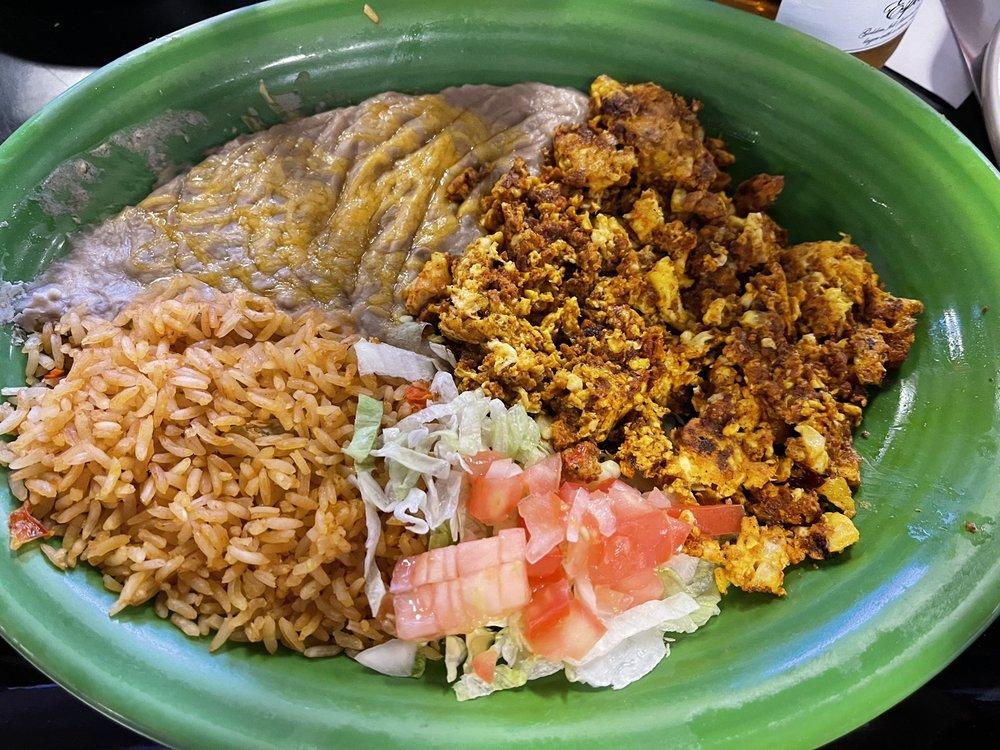 Food from Mi Tierra Mexicana