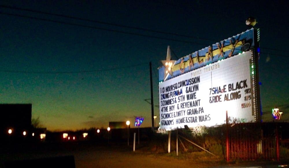 Galaxy Drive In Theatre: 5301 N Interstate Hwy 45, Ennis, TX