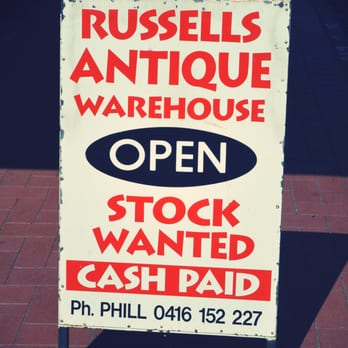 Russell's Antique & Collectables - Antiques