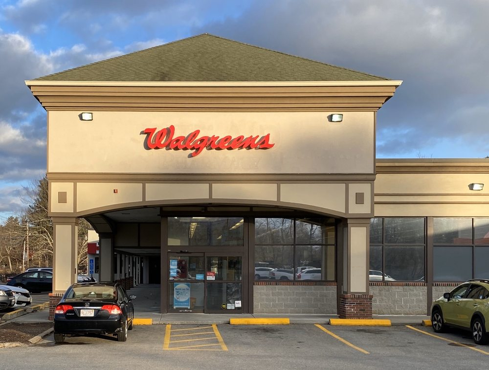 Walgreens: 1145 Main St, Holden, MA