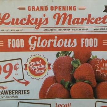 Lucky S Market Supermarkets Ann Arbor Mi United States Yelp