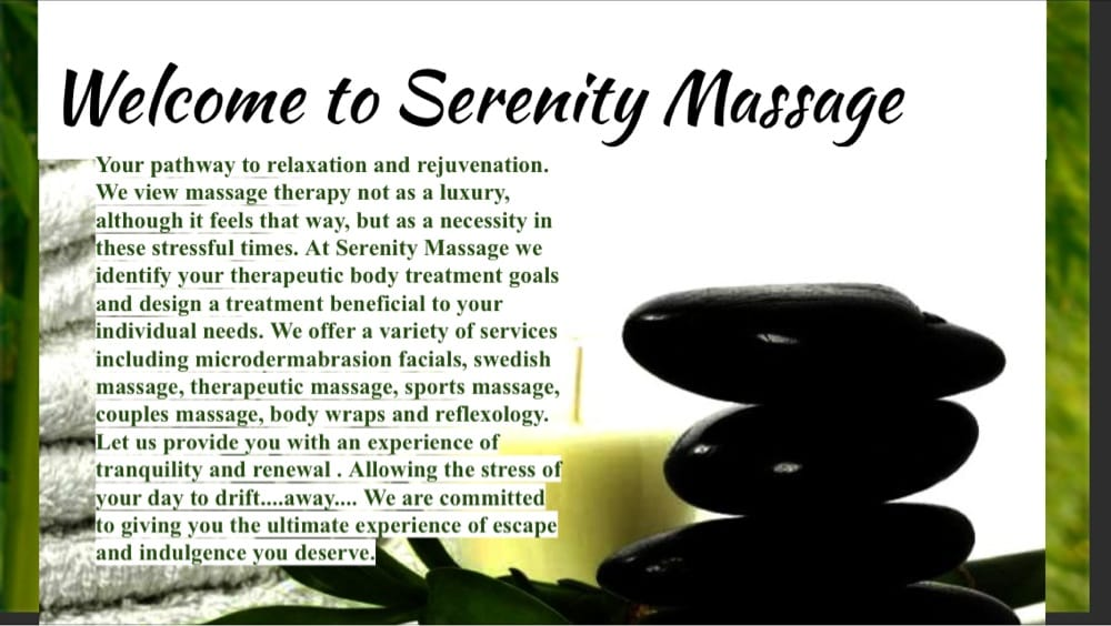 Serenity Massage: 106 E Corpus Christi St, Beeville, TX