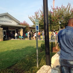 Photo Of Social Security   Austin, TX, United States. The Line At 8