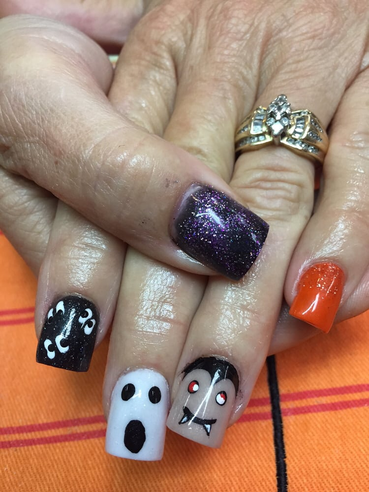 halloween nails by sharlene yelp