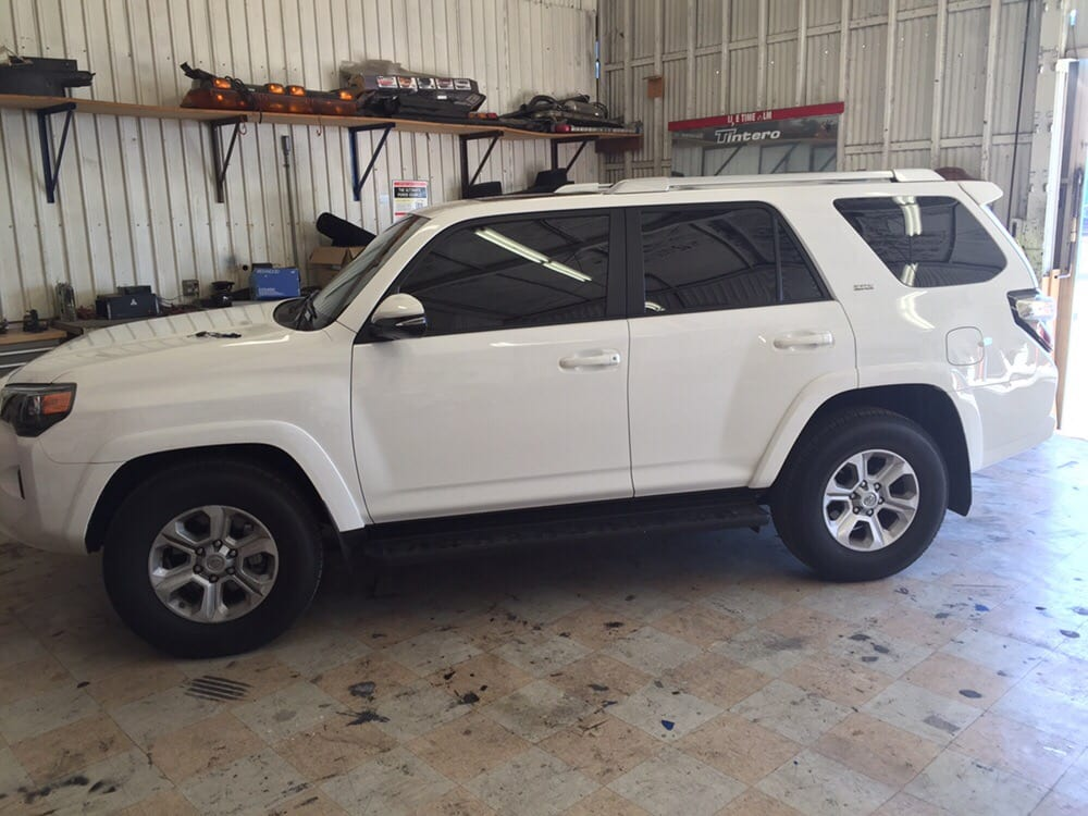 Toyota 4runner 2016 2 front window tinting 20 my old for 2 5 window tint