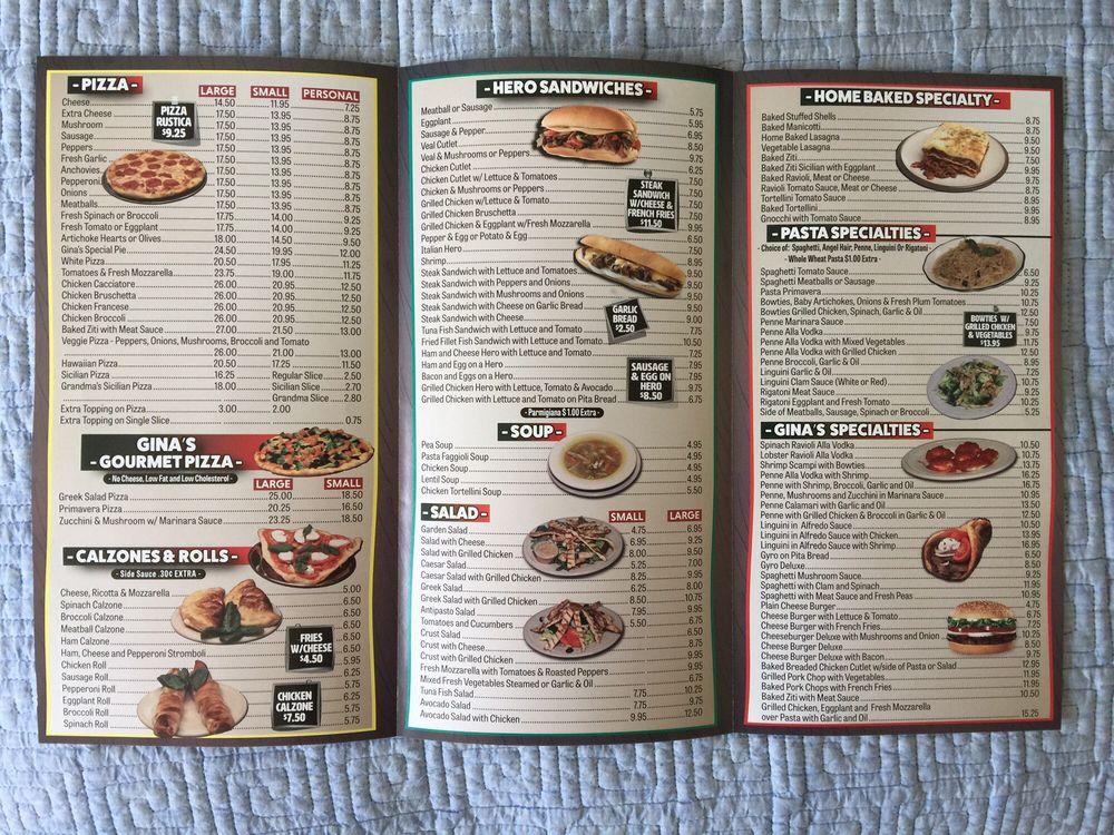 Gina s pizzaria 11 foto 39 s 16 reviews pizza 6024 for Pizzeria gina st priest menu