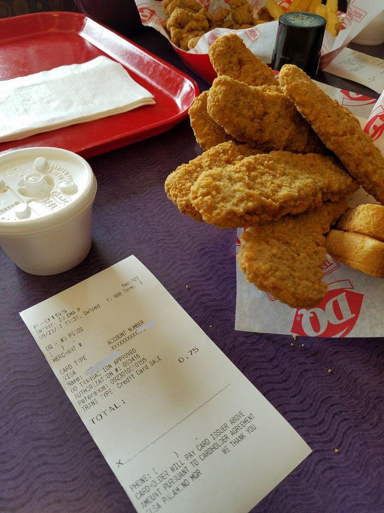 Dairy Queen: 1226 S Eddy, Pecos, TX