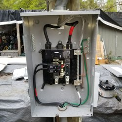 Photo Of Electric R Us Jacksonville Fl United States Installing An Outdoor