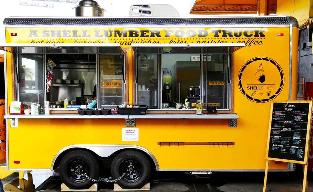 Shell Lumber Food Truck: 2733 SW 27th Ave, Miami, FL
