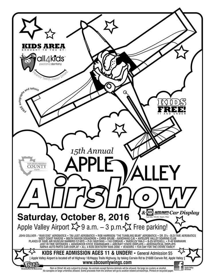 Apple Valley Airshow And Napa Auto Parts Car Display Saturday