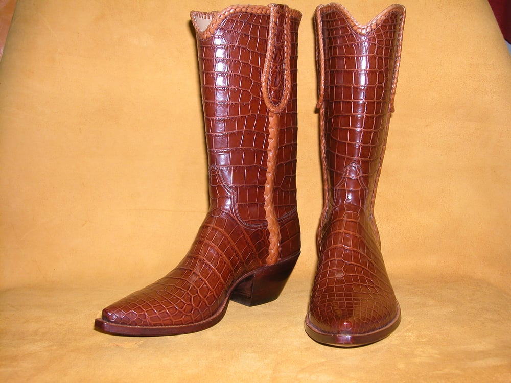 Cowboy Boots High Heels